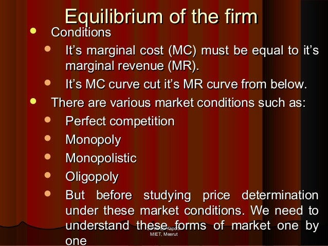 oligopoly market conditions Purpose: the purpsoe of this paper is to identify factors that may influence entry  mode decisions in an oligopolistic market situation method: our thesis is based.