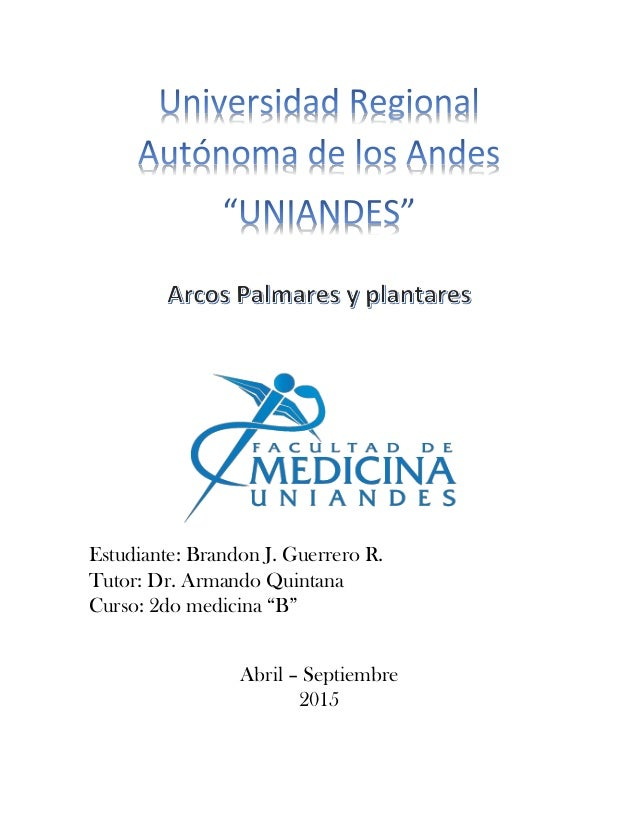 "Estudiante: Brandon J. Guerrero R. Tutor: Dr. Armando Quintana Curso: 2do medicina ""B"" Abril – Septiembre 2015"