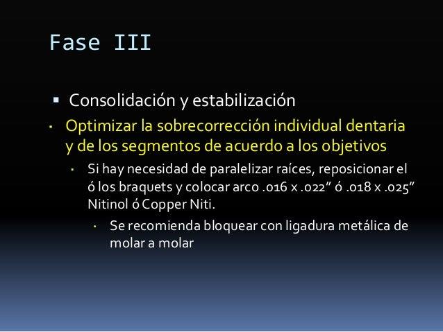 Fase II-2. Refuerzo de anclaje  Microimplantes ó microtornillos ortodónticos  Infiltración de anestesia local en la zona...