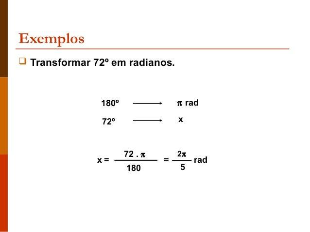 TRANSFORMAR GRAUS EM RADIANOS PDF DOWNLOAD