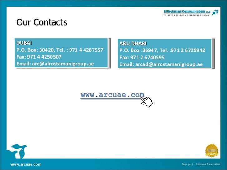 Al Rostamani Communications Profile
