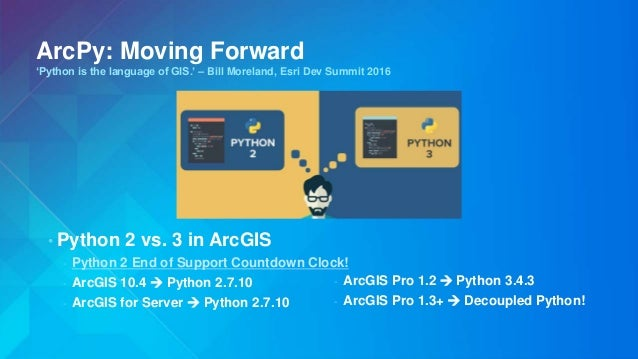 Arcpy overview slides