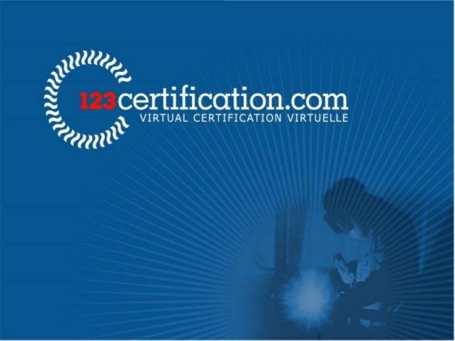 Entreprise : 123 Certification Inc. Claude Choquet Ing. M.Sc. IWE Président, Fondateur, Inventeur À l'origine du premier s...