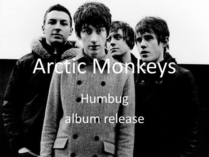 Arctic Monkeys<br />Humbug <br />album release <br />