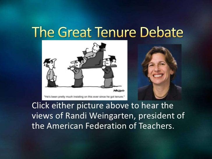 teacher tenure pros and cons