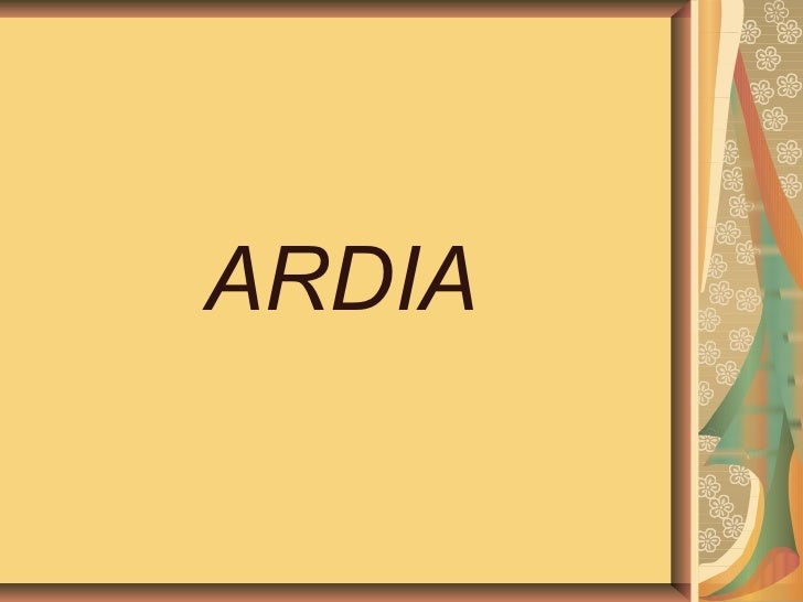 ARDIA