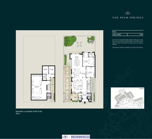 8826869222 Emaar MGF Palm Springs Luxury Apartments