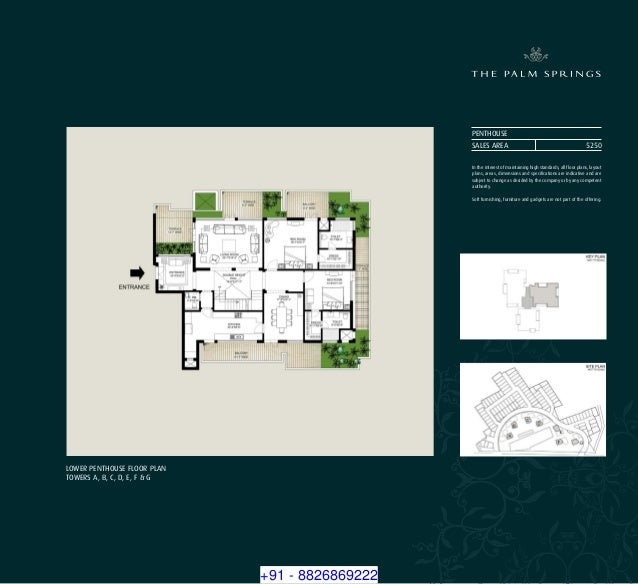 Mission Palms Apartments: 8826869222 Emaar MGF Palm Springs Luxury Apartments