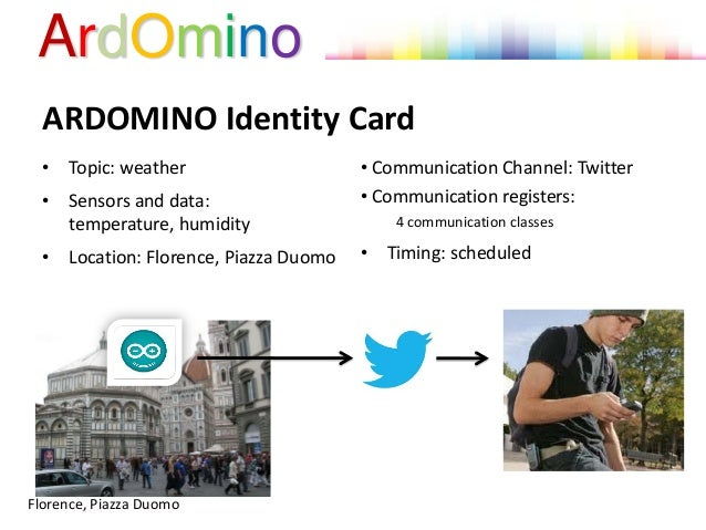 ardomino  the talking sensor for the sharing of local data