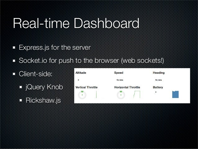 node.js and the AR.Drone: building a real-time dashboard using socket…