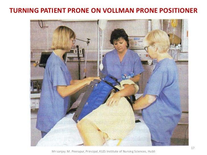 TURNING PATIENT PRONE ON VOLLMAN PRONE POSITIONER                                                                         ...