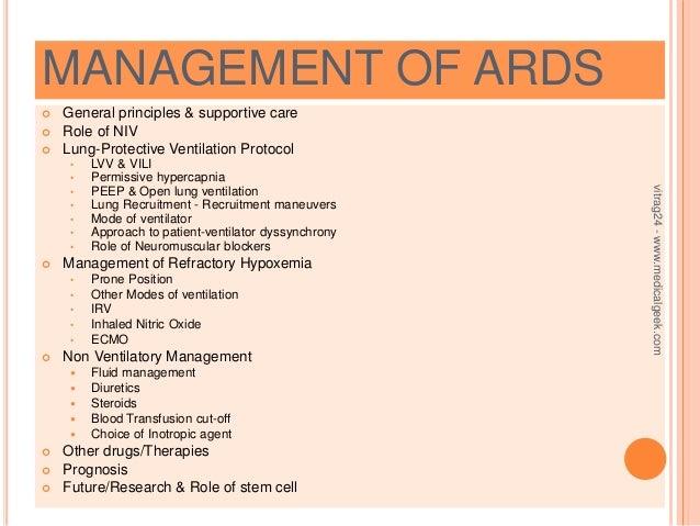 ards treatment steroids