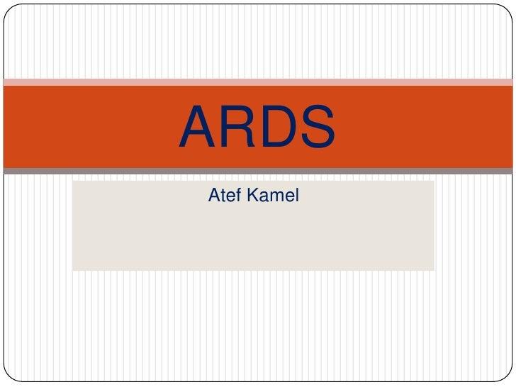 ARDSAtef Kamel