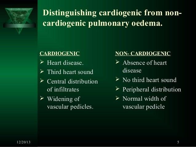 Non cardiogenic pulmonary edema