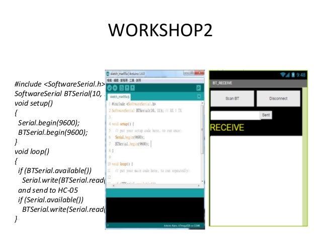 Hackathon taiwan ht :arduino 藍藍路