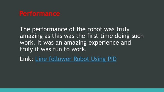 Line follower Robot using PID algorithm