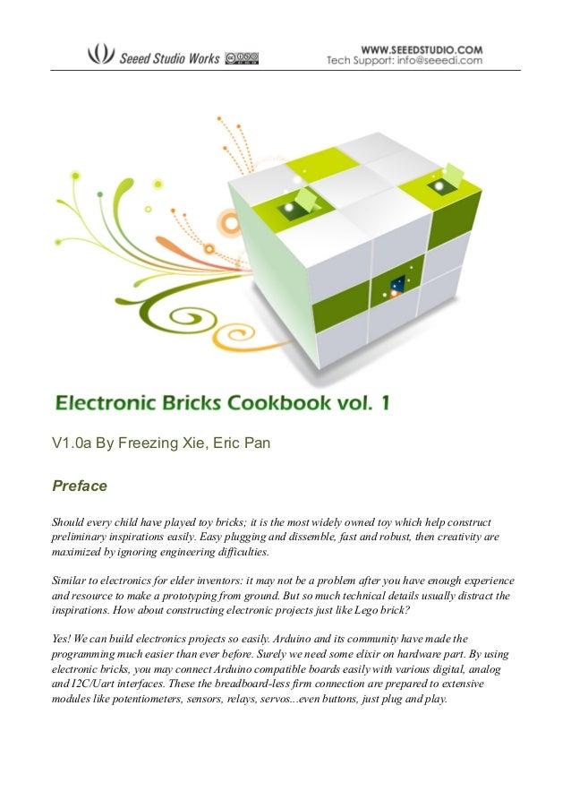 arduino electronics cookbook rh slideshare net