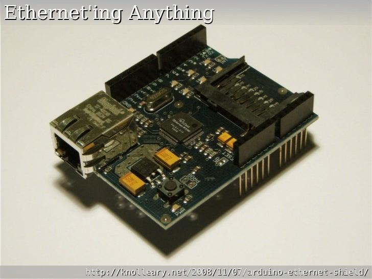 Arduino home automation hacks