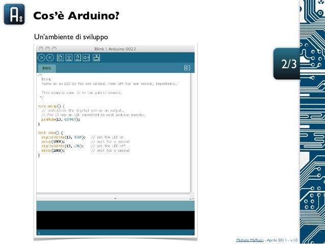 arduino lezione 01   a s 2010 2011