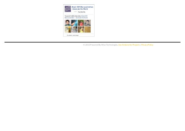 Arduino projects pdf download list jan