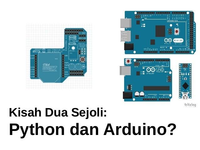 Kisah dua sejoli arduino python