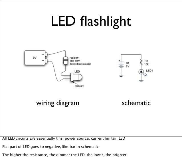 Flashlight Wiring Diagram - Wiring Diagram Option