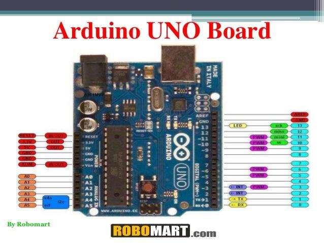 Arduino uno board robomart