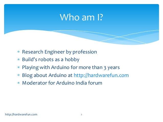 Arduino Robotics workshop Day1 Slide 2