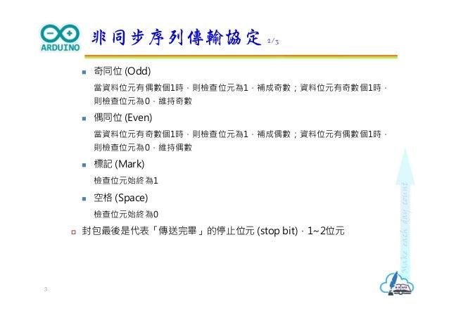 Arduino序列通訊 Slide 3