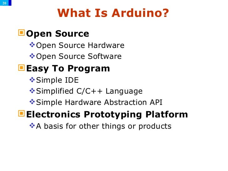 arduino introduction by coopermaa