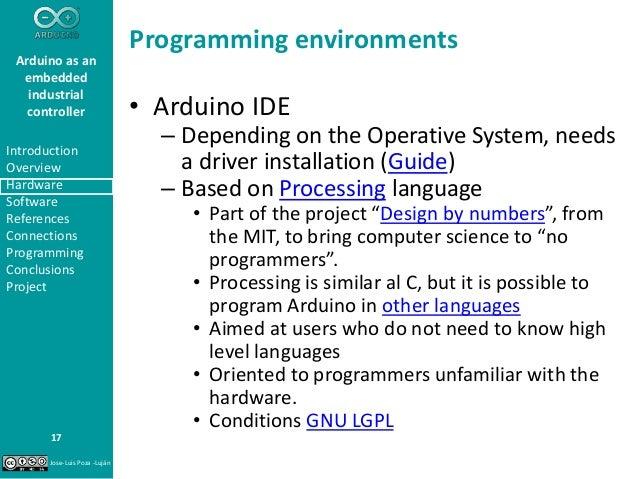 Arduino as an embedded industrial controller