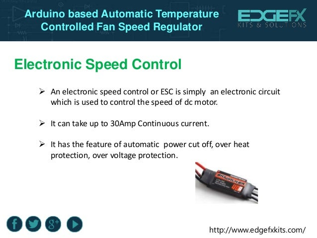 automatic temperature fan speed control Temperature and fan control  and request automatic fan control, it seems to adjust the fan speed once, according to the temperature.