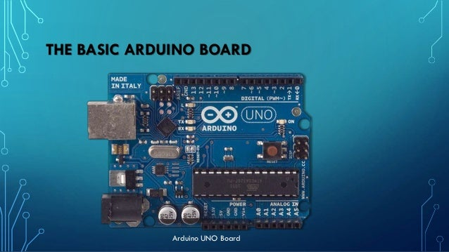 """""""ARDUINO IN THE GREENHOUSE"""" • Arduino is the heart of the The Intelligent Greenhouse. • Arduino boards are able to receive..."""
