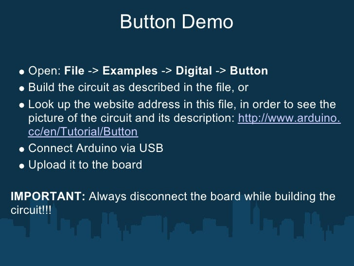 Analog Input  Open: File -> Examples -> Analog -> Analog Input Build the circuit as described in the file, or Look up the ...