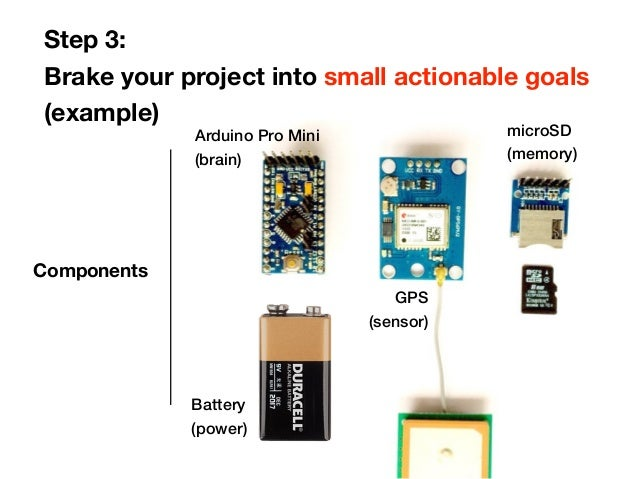 Using arduino to create your own self tracking tools