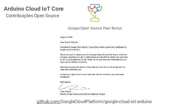 Google Iot Core Arduino