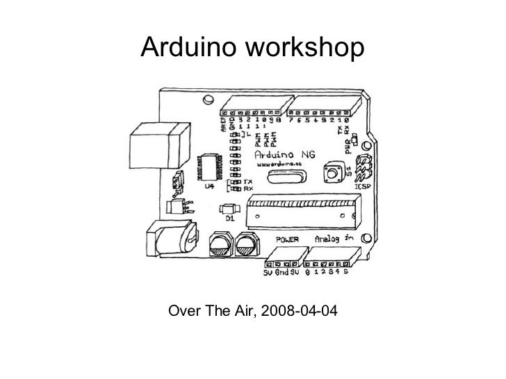 Arduino workshop Over The Air, 2008-04-04