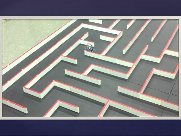 Arduino maze solving robot