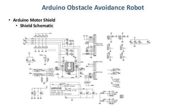 Arduino obstacle avoidance robot