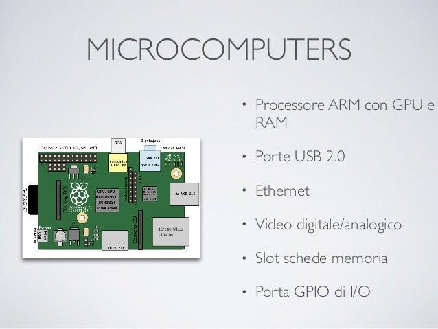 SISTEMI OPERATIVI • Sistemi Linux/Unix • Android • Windows 10 IOT • Configurazione di avvio su scheda di memoria