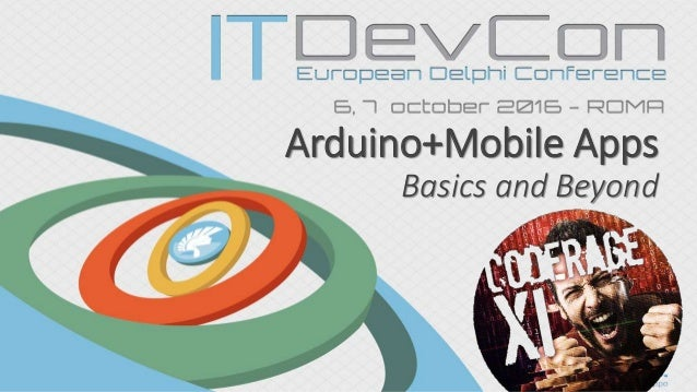 Arduino+Mobile Apps Basics and Beyond