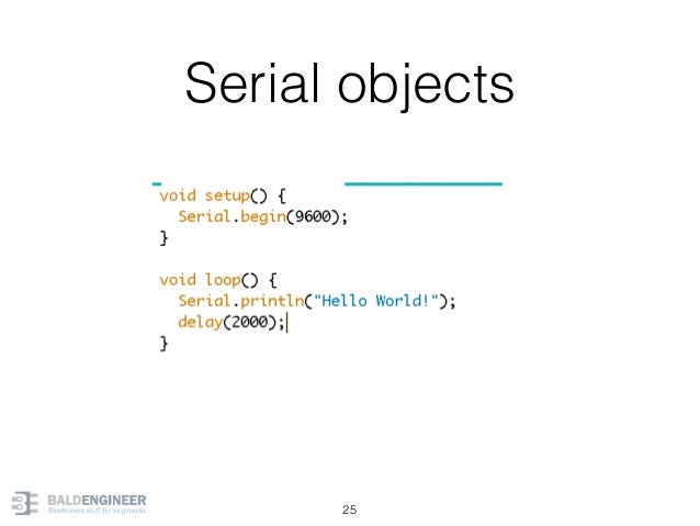 Serial objects 25