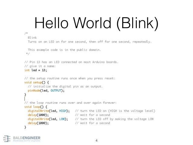 Hello World (Blink) 4