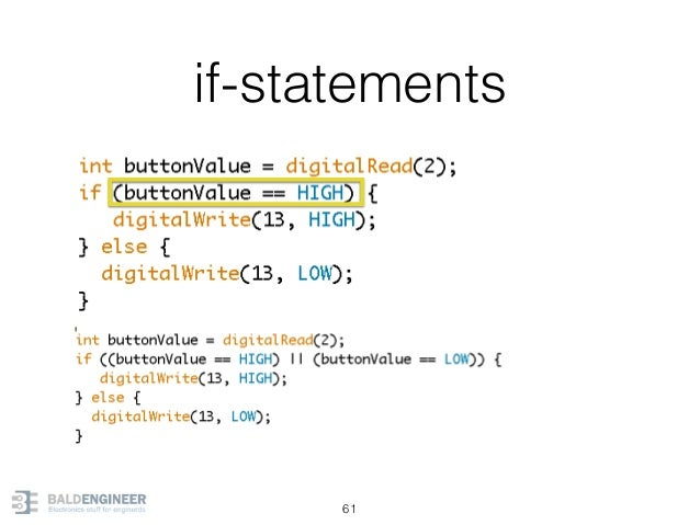if-statements 61