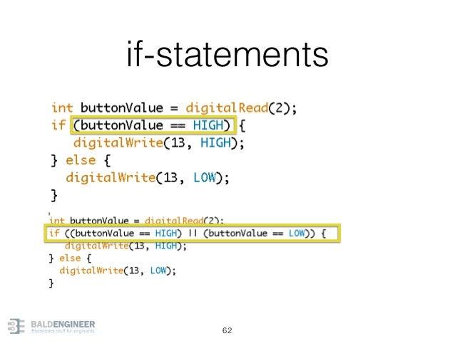 if-statements 62