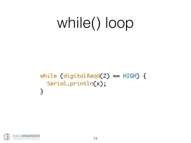 while() loop 72