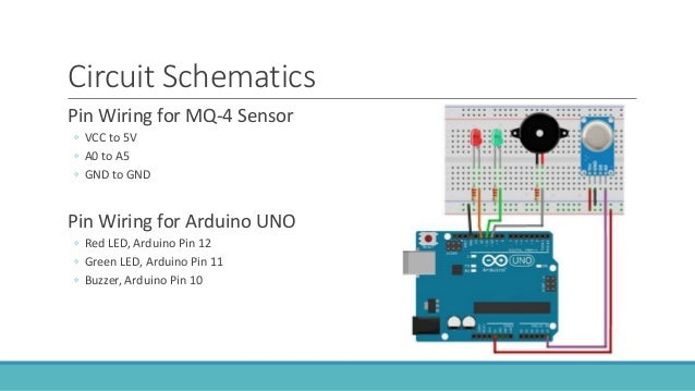 Arduino UNO Gas & Smoke Detection - Embedded Systems