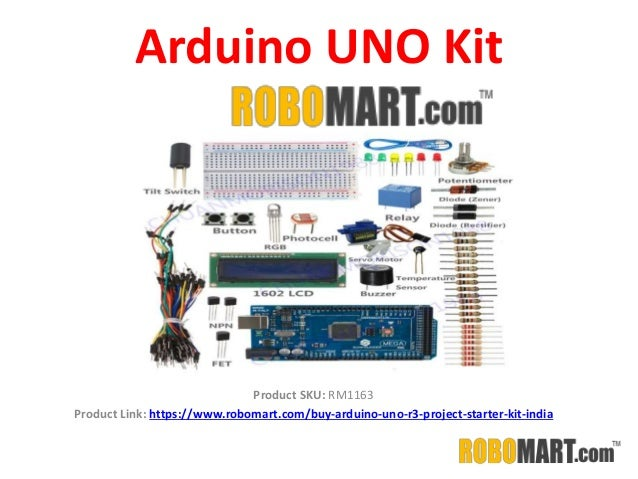 Arduino uno kit in india by robomart
