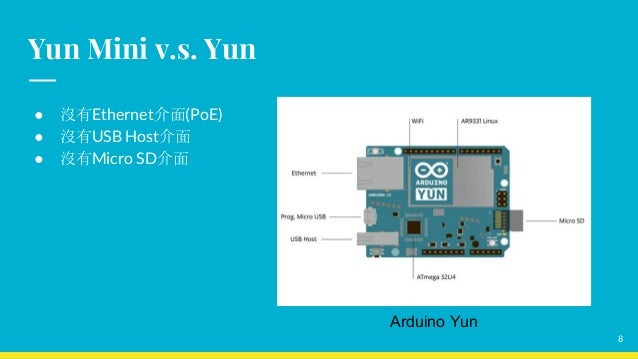 Arduino yun mini簡介