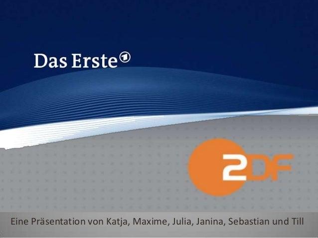 Eine Präsentation von Katja, Maxime, Julia, Janina, Sebastian und Till